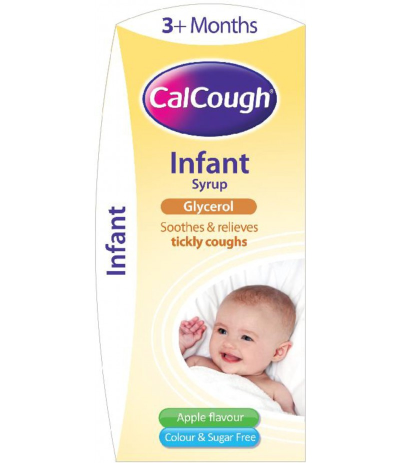 CALCOUGH infant syrup 0.75ml/5ml 125ml
