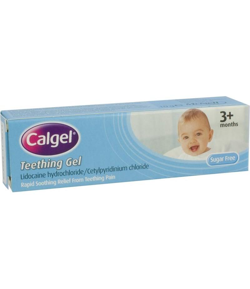 CALGEL teething gel (GSL) 0.1%/0.33% 10g