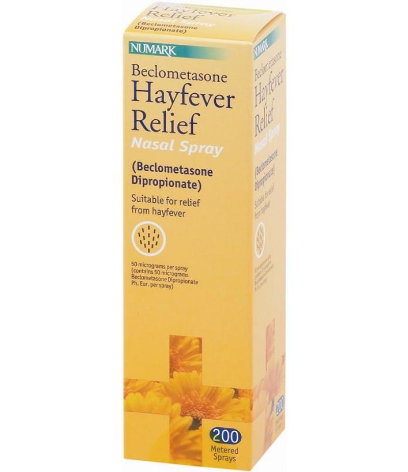 NUMARK OTC medicines allergy relief hayfever relief nasal spray 50mcg 200 dose