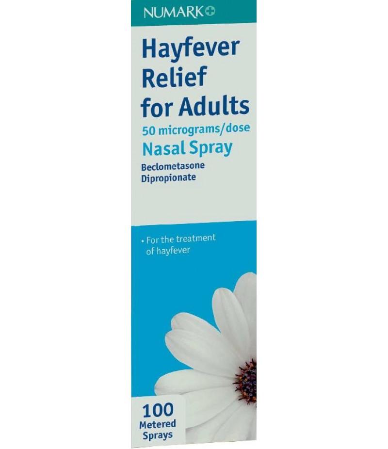 NUMARK OTC medicines allergy relief hayfever relief nasal spray 50mcg 100dose