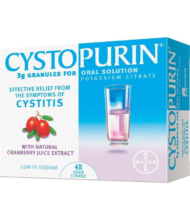 CYSTOPURIN cranberry granules 3g 7g 6