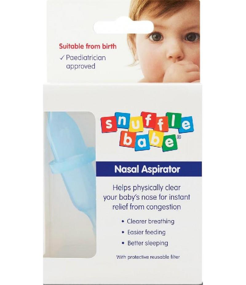 SNUFFLEBABE nasal aspirator (boxed)