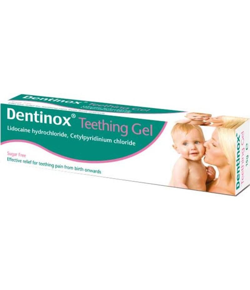 DENTINOX teething gel 0.1%/0.33% 15g