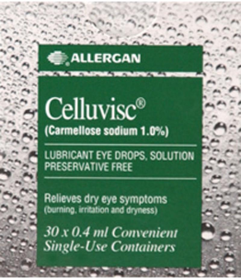 CELLUVISC dry eye preperation 1% 0.4ml 30