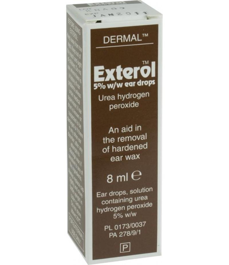 EXTEROL ear drops 5% 8ml