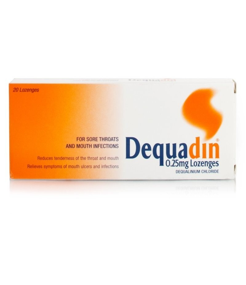 DEQUADIN lozenges 0.25mg  20