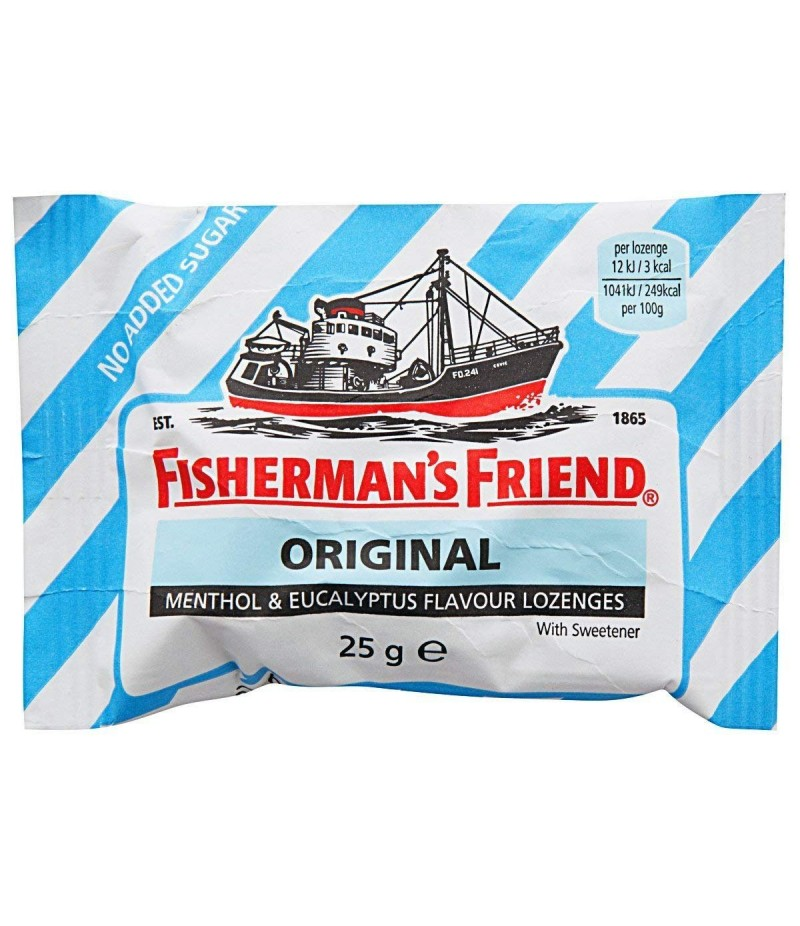FISHERMANS FRIEND lozenges original tooth friendly  25g
