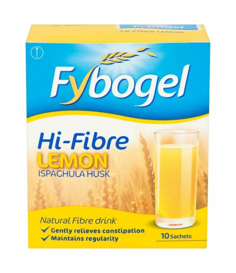 FYBOGEL HI-FIBRE sachets lemon 3.5g  10