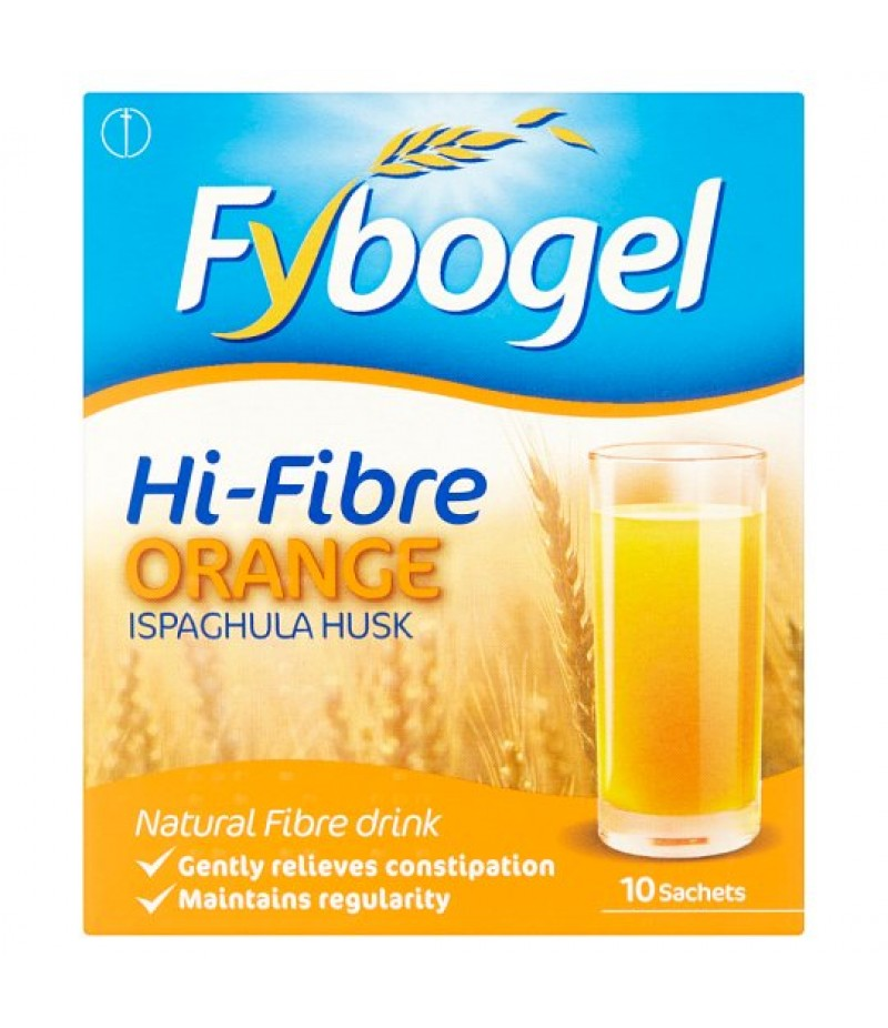 FYBOGEL HI-FIBRE sachets orange 3.5g  10
