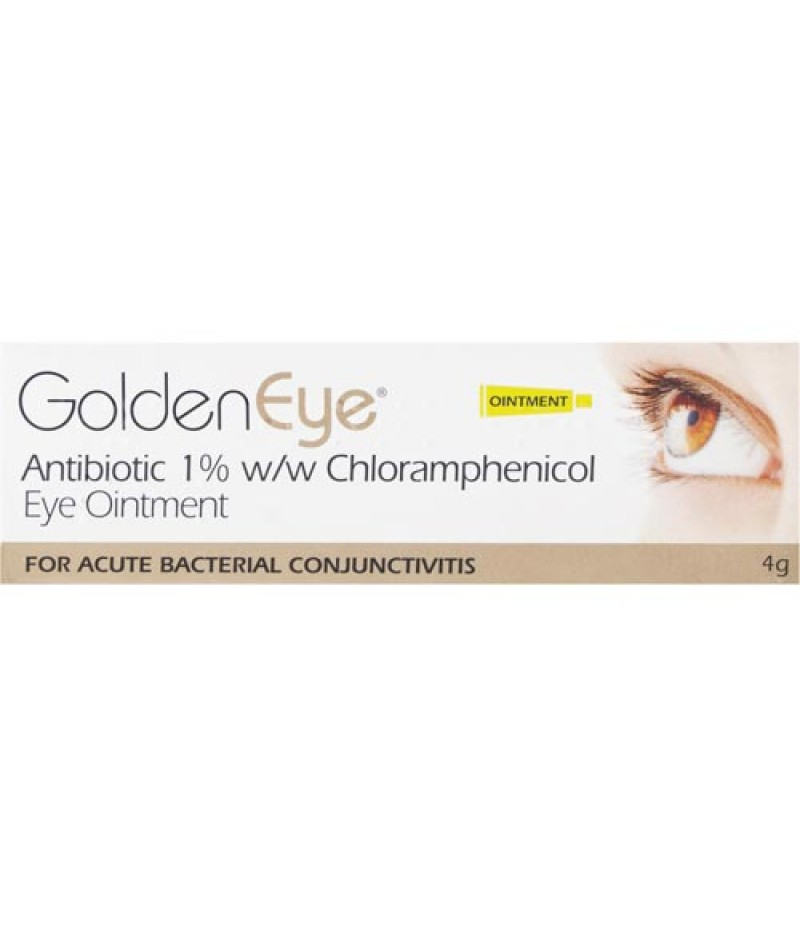 GOLDEN EYE antibiotic ointment 1% w/w 4g