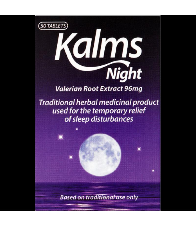 KALMS NIGHT herbal sedative tablets  50