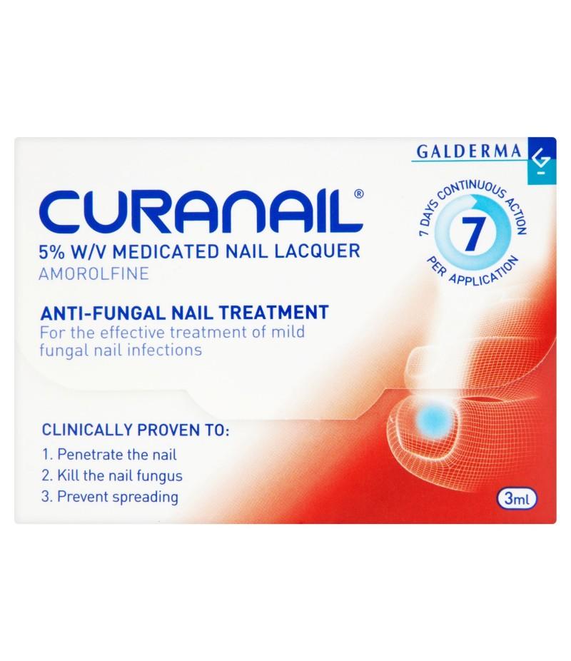 LOCERYL CURANAIL medicated nail laquer 5% w/v 3ml