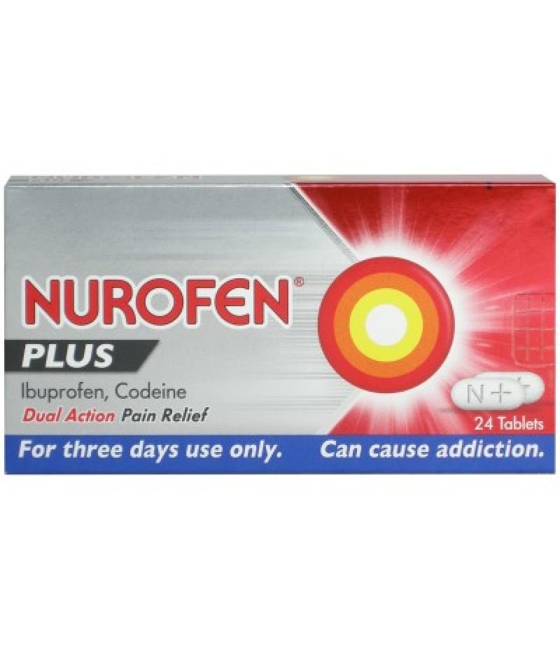 NUROFEN PLUS tablets 12.8mg/200mg  24