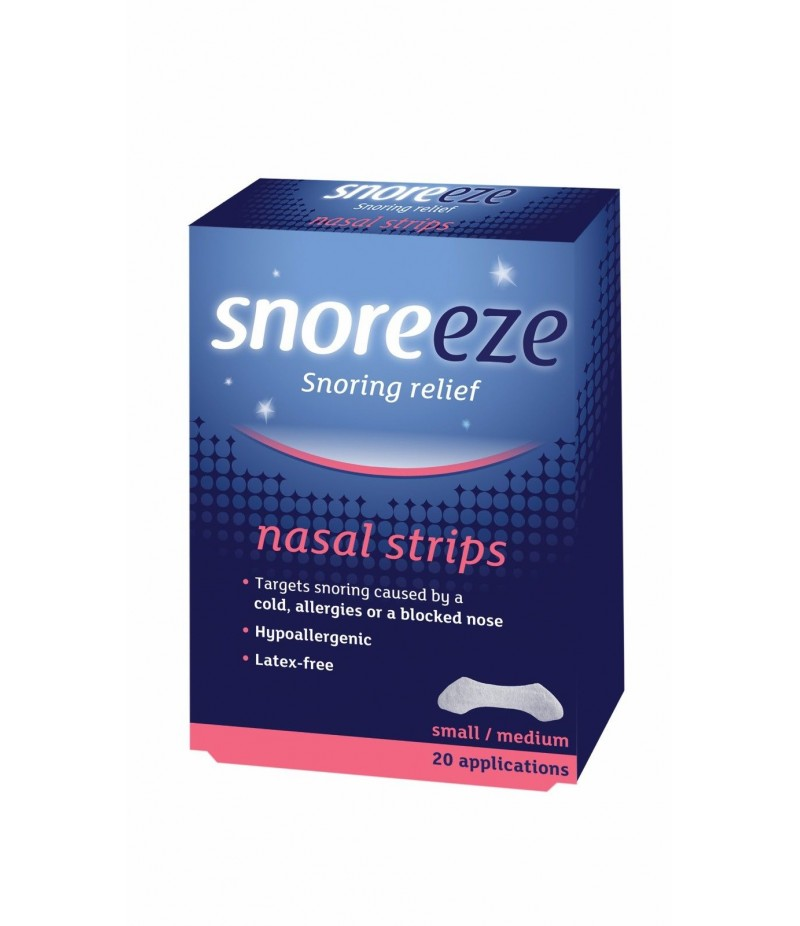 SNOREEZE nasal strips small/medium 10