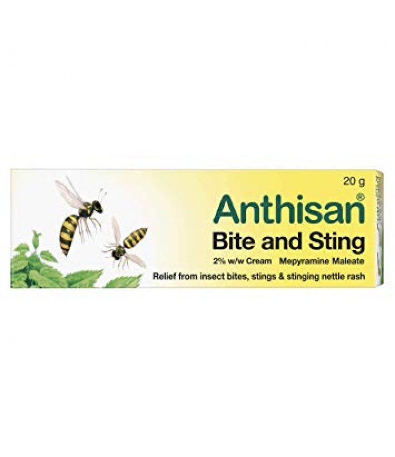ANTHISAN BITE & STING cream 2% 20g