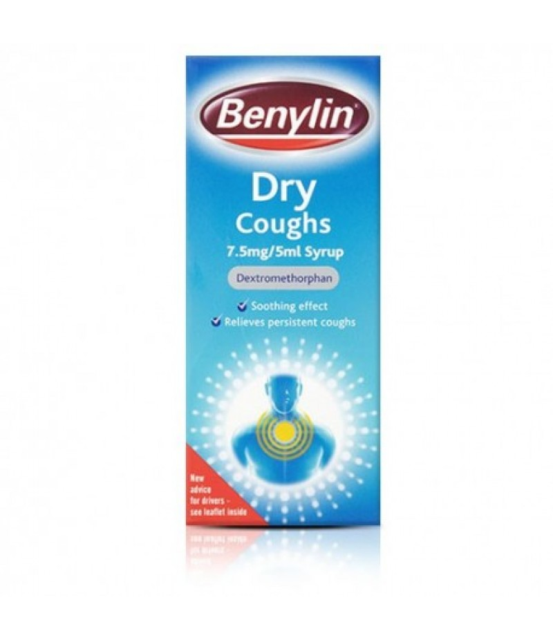 BENYLIN dry cough syrup 7.5mg/5ml 150ml