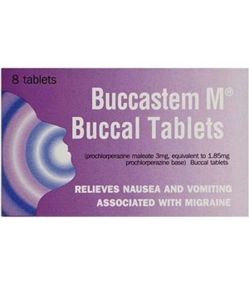 BUCCASTEM M tablets 3mg  8