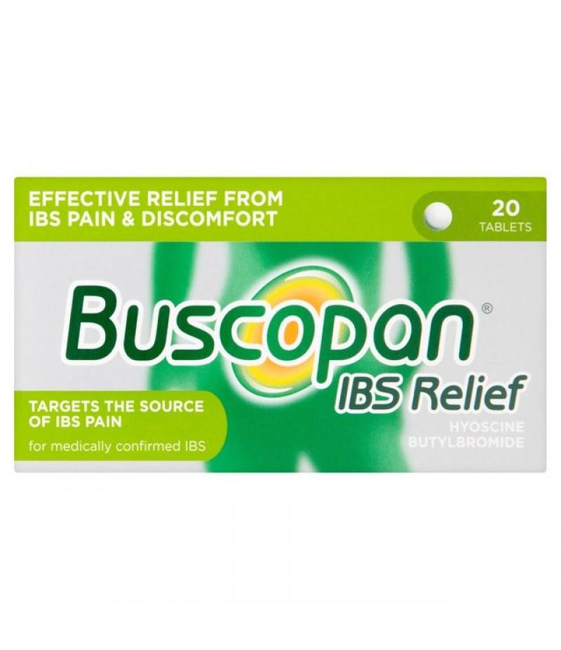 BUSCOPAN IBS RELIEF tablets 10mg  20