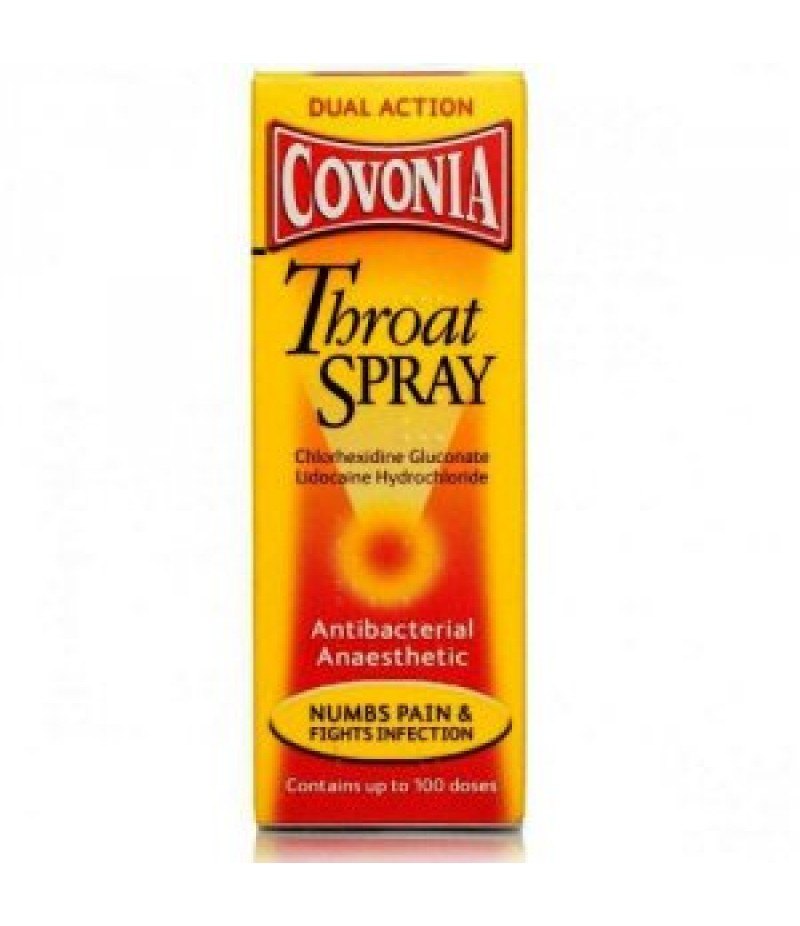 COVONIA throat spray 0.2%/0.05% 30ml