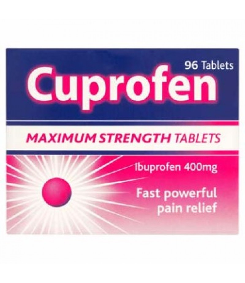 CUPROFEN tablets 400mg  96