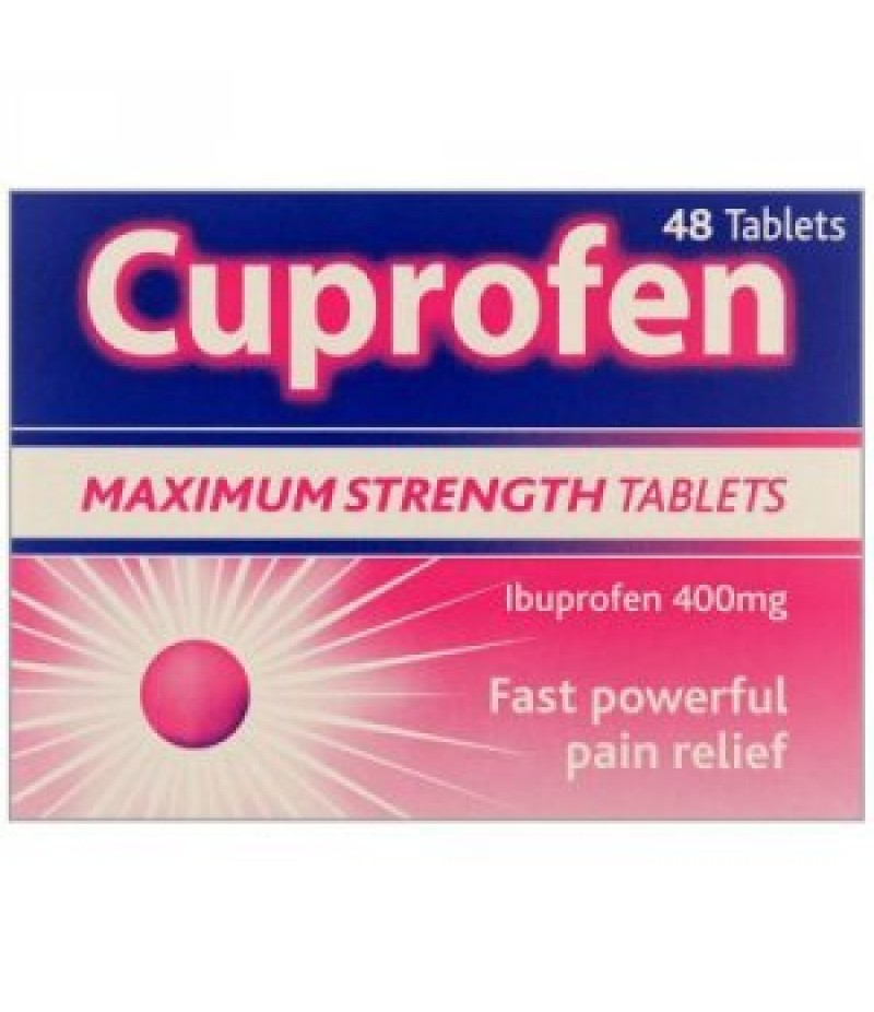 CUPROFEN tablets 400mg  48
