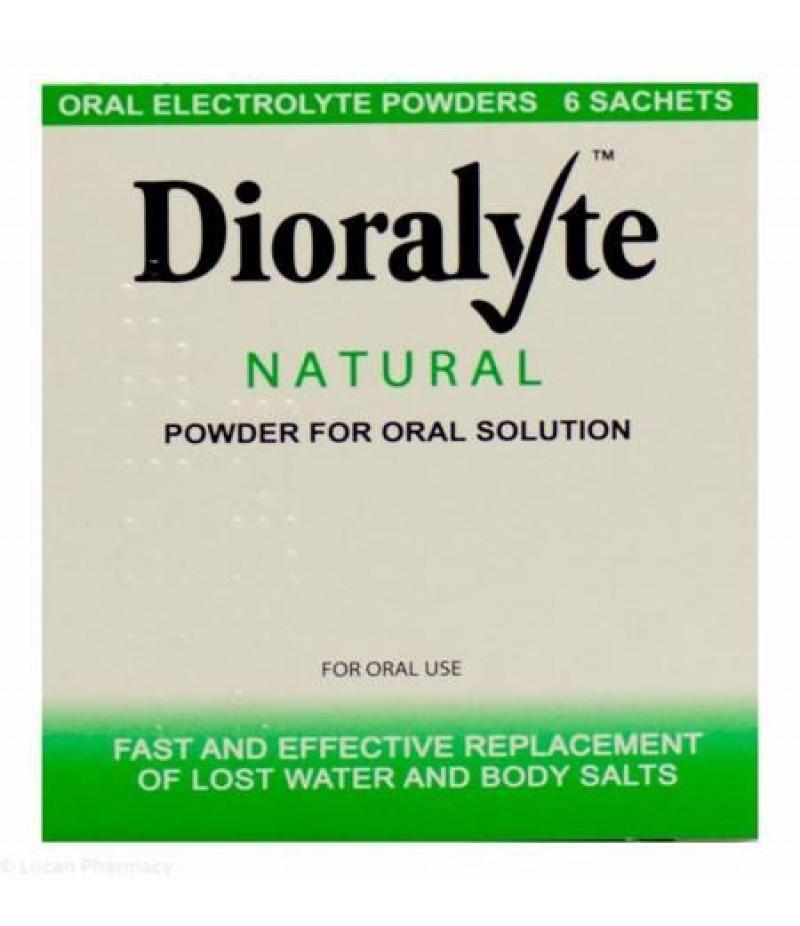 DIORALYTE supplement sachets natural 0.53g/3.56g/0.30g/0.47g  6