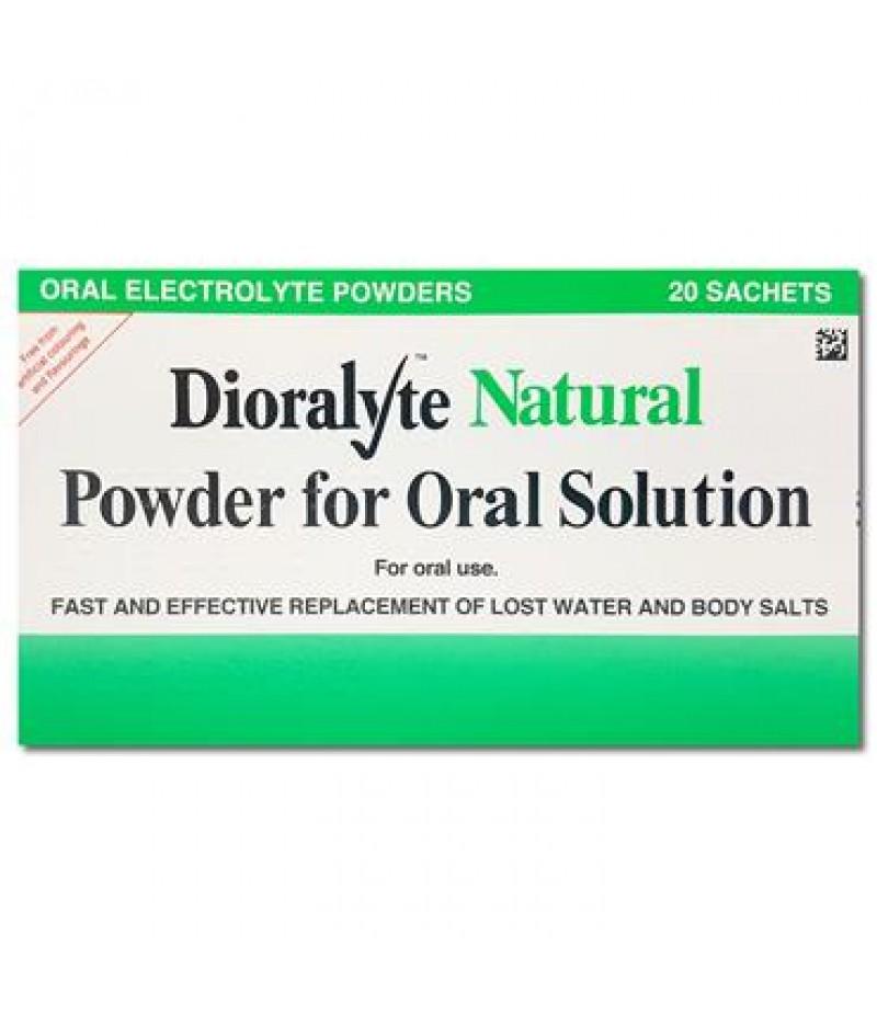 DIORALYTE supplement sachets natural 0.53g/3.56g/0.30g/0.47g  20
