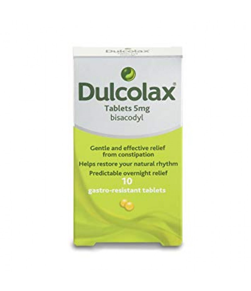 DULCOLAX laxative tablets 5mg  10