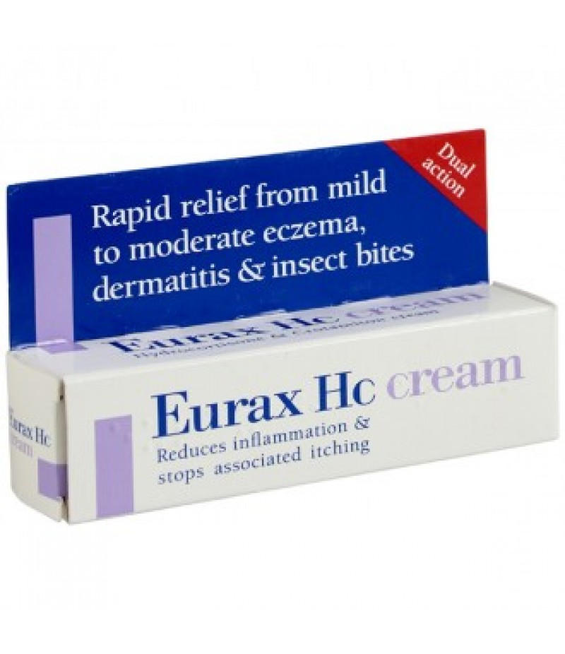 EURAX HC cream 10%/0.25% 15g