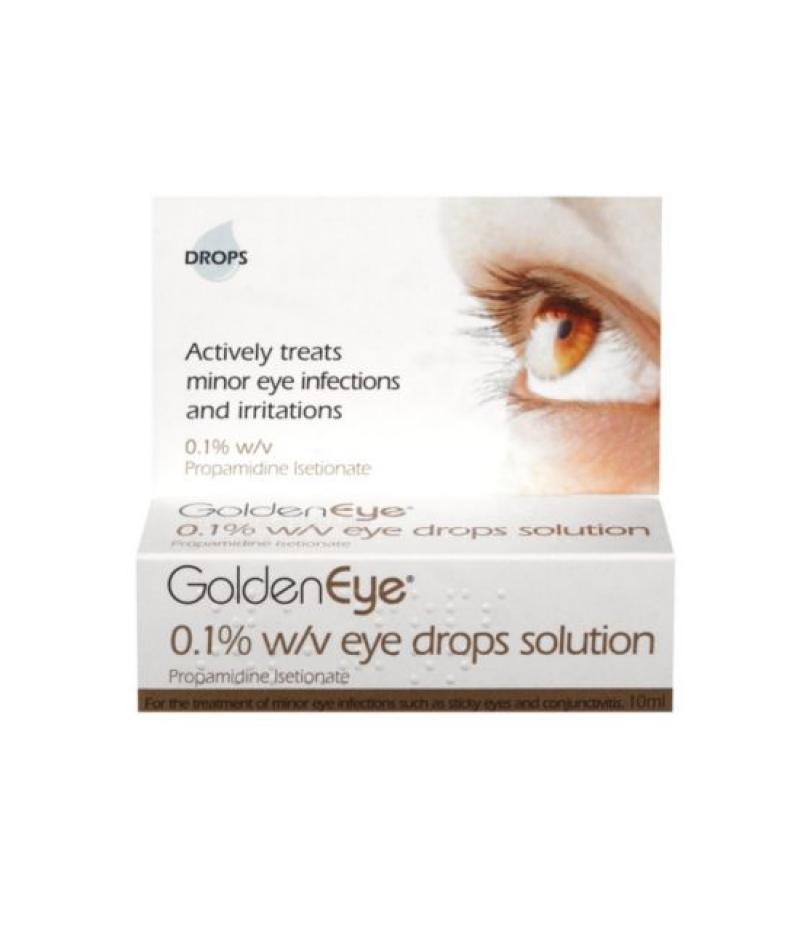 GOLDEN EYE eye drops 0.1% 10ml