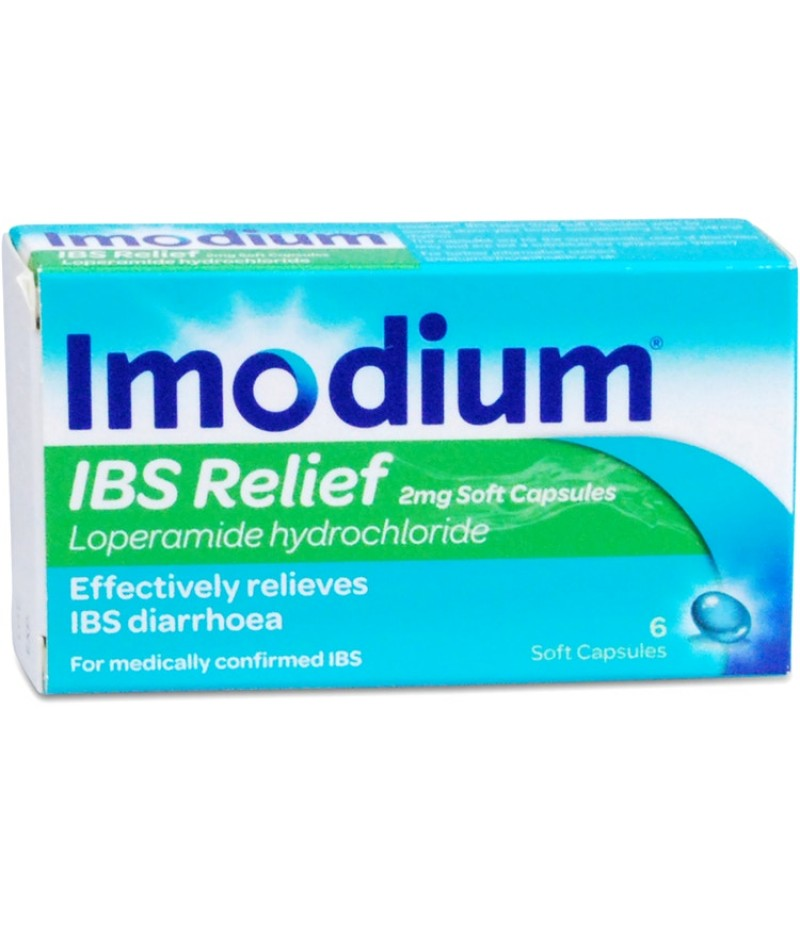 IMODIUM IBS RELIEF soft capsules 2mg  6