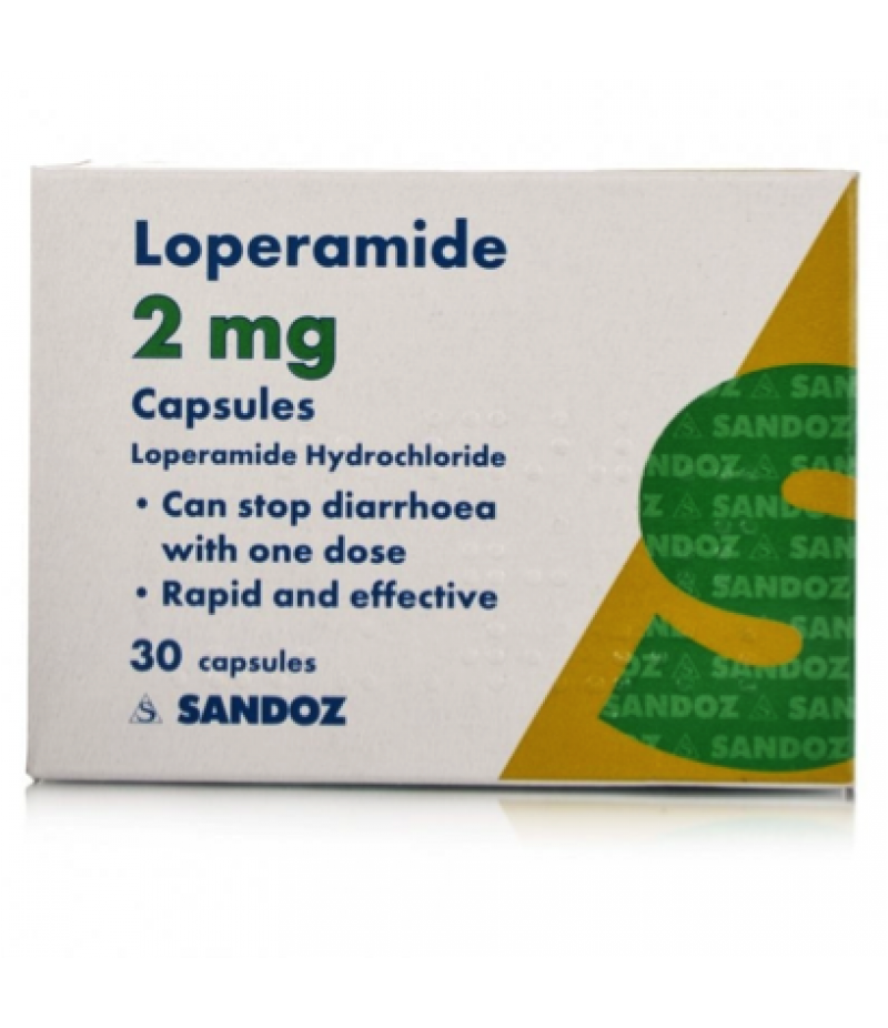 Loperamide capsules 2mg  30