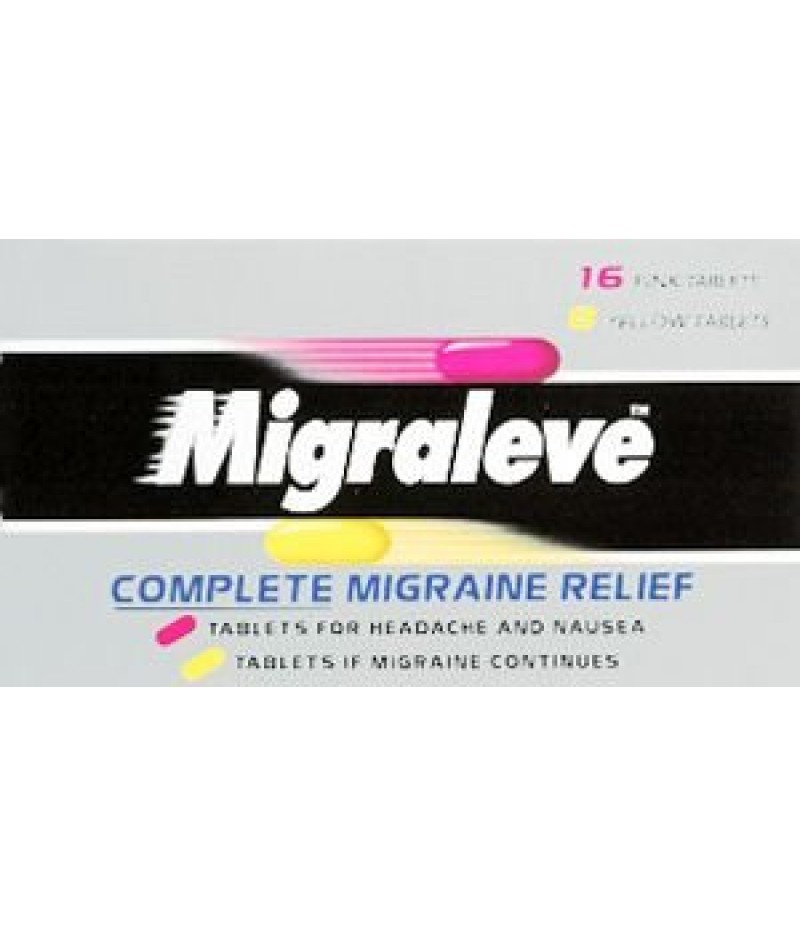 MIGRALEVE tablets complete pack 6.25mg/8mg/500mg  24