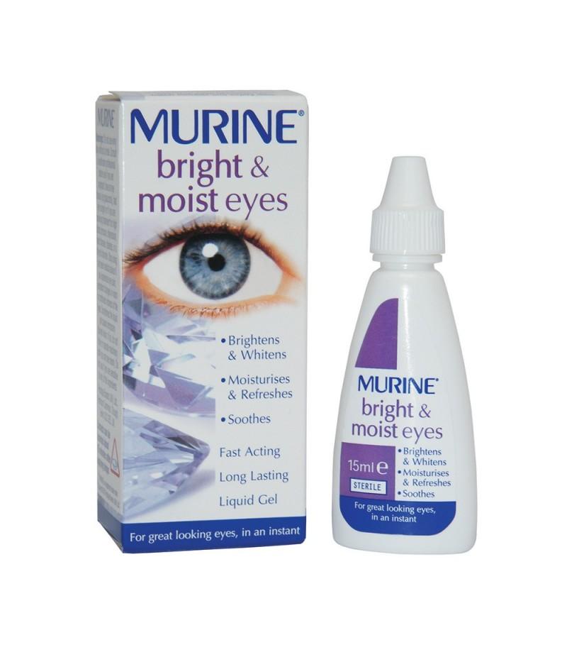 MURINE bright & moist eyes eye drops 0.30%/0.005% 15ml