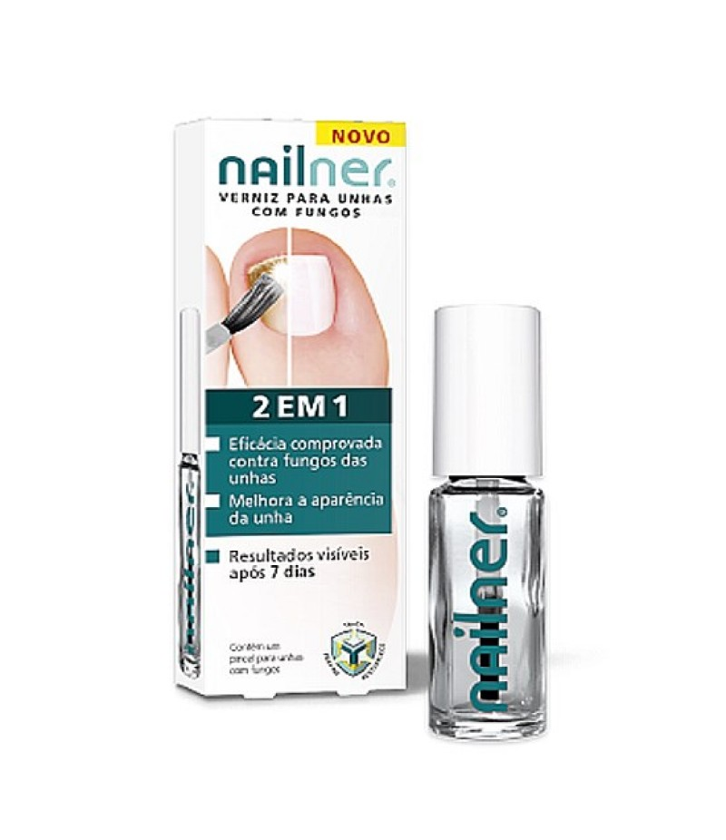 NAILNER fungal nail infection brush 2in1 5ml