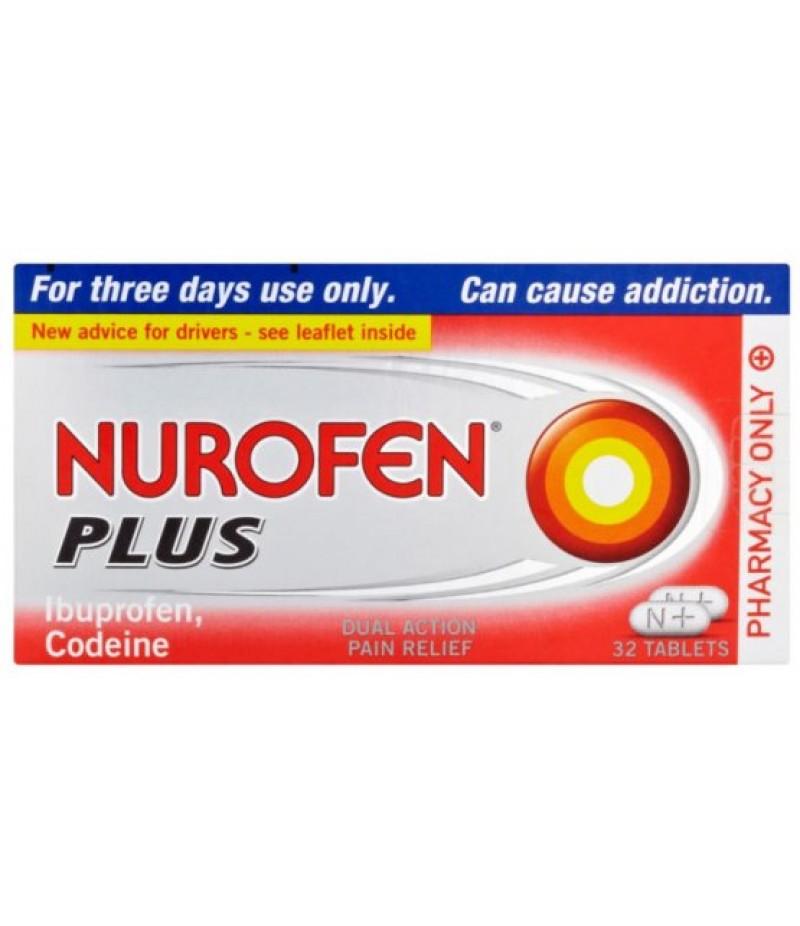 NUROFEN PLUS tablets 12.8mg/200mg  32