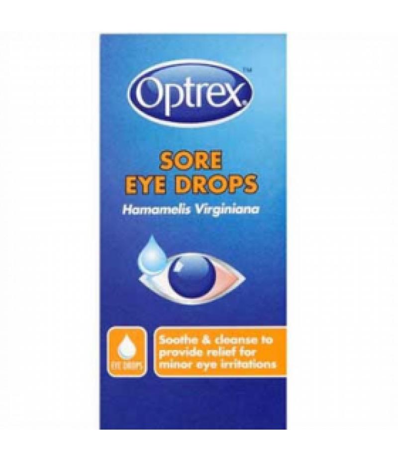 OPTREX eye drops sore eyes 13%v/v 10ml
