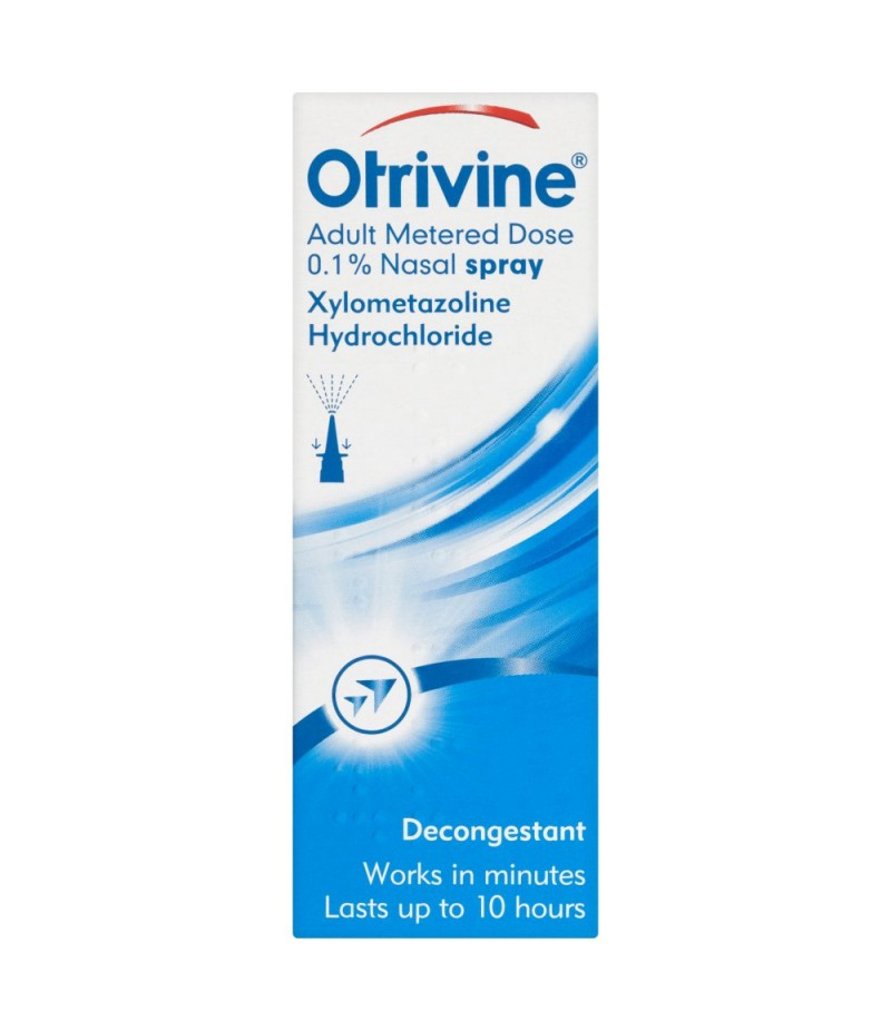 OTRIVINE adult nasal spray original 0.1% 10ml
