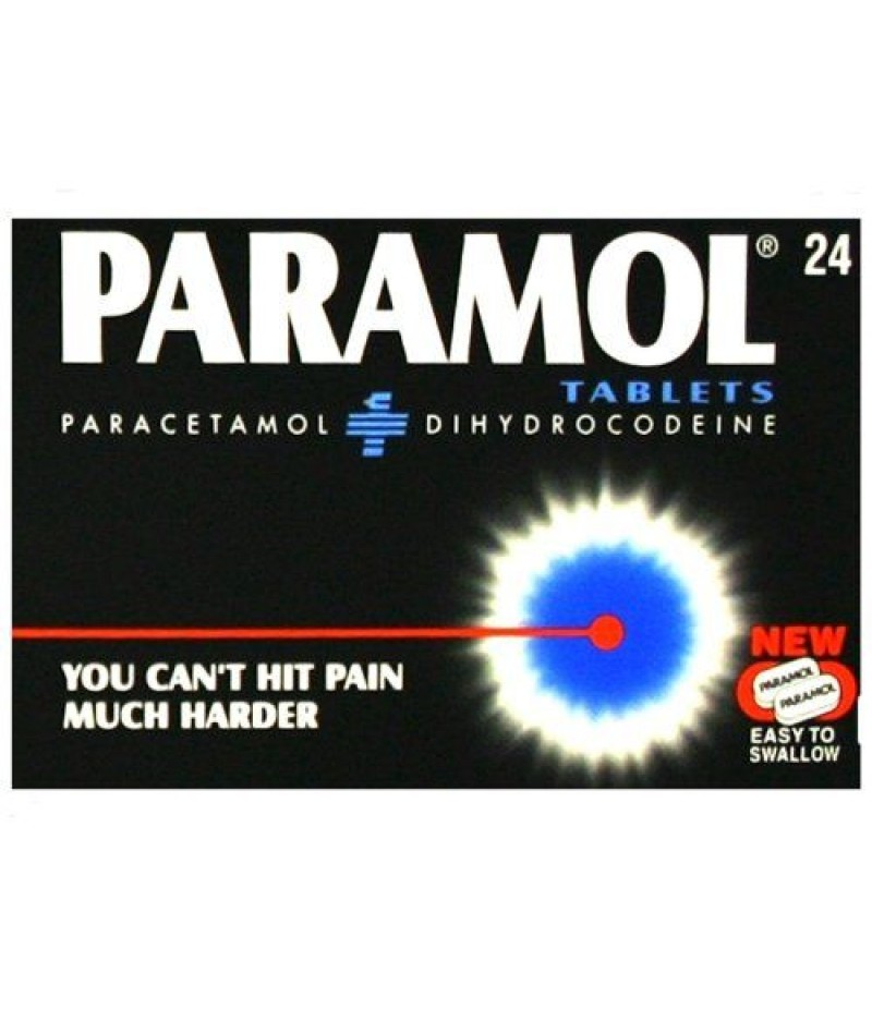 PARAMOL tablets easy to swallow 7.46mg/500mg  24